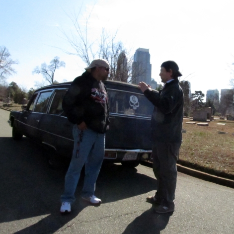 Joe outlines his plans for a shot in the cemetery