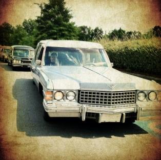 Coffin Cruisers caravan