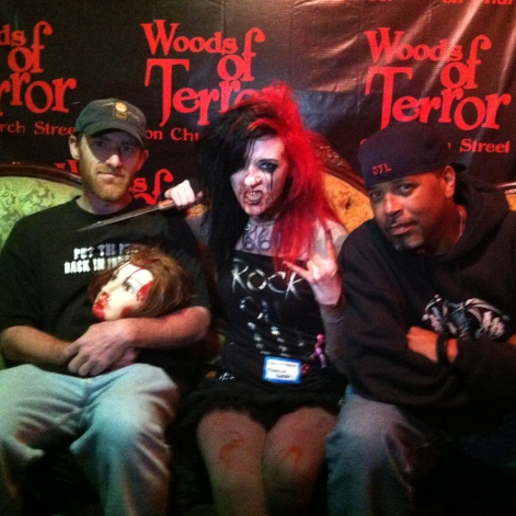 Coffin Cruisers Josh and Darrell at Woods of Terror