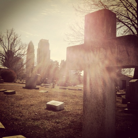Cemetery in Charlotte
