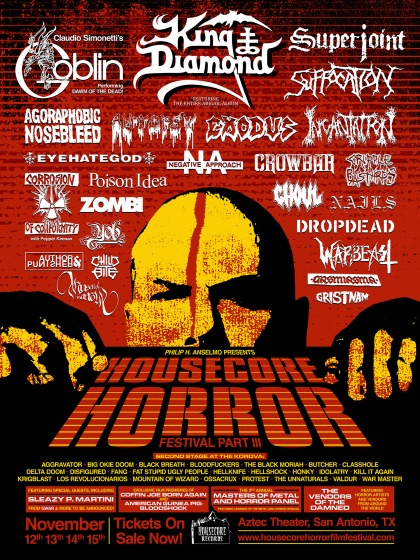 Housecore Horror 2015 Flyer
